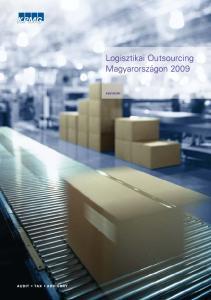 Logisztikai Outsourcing Magyarországon 2009 ADVISORY