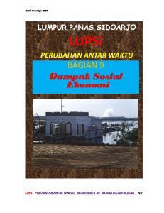 LUPSI PERUBAHAN ANTAR WAKTU, BEDAH BUKU DR. BASUKI HADIMULJONO 127