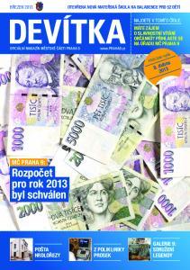 MČ PRAHA 9: Rozpočet pro rok 2013 byl schválen GALERIE 9: SDRUŽENÍ LEGENDY Z POLIKLINIKY PROSEK POŠTA HRDLOŘEZY. 8. dubna 2013