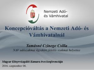 Magyar Könyvvizsgálói Kamara éves konferenciája szeptember 08