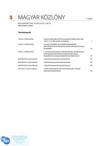MAGYAR KÖZLÖNY 1. szám - PDF Free Download 1ce70084e4