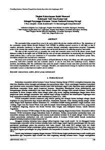 Mahasiswa Magister Ilmu Lingkungan, Program Pasca Sarjana Universitas Diponegoro, Semarang. 2