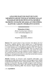 Mahmudatus Sa diyah Almuna Consulting Jepara, Indonesia   Nur Aziroh Pengadilan Agama Kudus, Indonesia