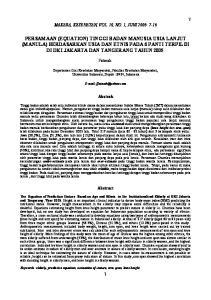 MAKARA, KESEHATAN, VOL. 10, NO. 1, JUNI 2006: 7-16