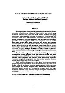 MAKNA PERNIKAHAN SIRRI PADA PRIA DEWASA AWAL. By Putri Hastari, *Endang S.I and Dinie R.D. Fakultas Psikologi, Universitas Diponegoro