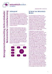 Managementsamenvatting Referentiekader. Netcentrische crisisbeheersing