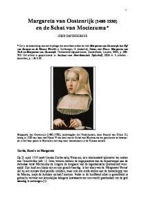 Margareta van Oostenrijk ( ) en de Schat van Moctezuma*