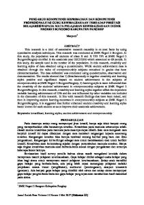 Maryuni 1. Keywords: kreatifitasi, learning styles, student achievement and entrepreneurship