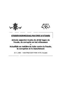 MATINEE D'ETUDES