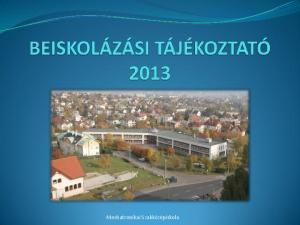 Mechatronikai Szakközépiskola