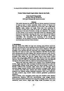 Medan Makna Kepala Negara dalam Alquran dan Hadis. Moch. Syarif Hidayatullah Fakultas Adab dan Humaniora UIN Syarif Hidayatullah Jakarta Indonesia