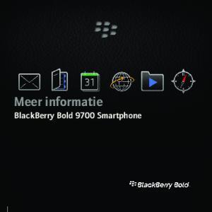 Meer informatie BlackBerry Bold 9700 Smartphone