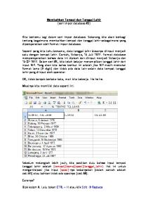 Memisahkan Tempat dan Tanggal Lahir [seri impor database #3]