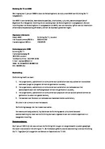 Met ingang van 1 januari 2008 is door de Belastingdienst de status van ANBI aan Stichting De Til toegewezen