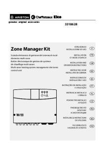 MGm II. Zone Manager Kit Scatola elettronica di gestione del sistema di riscaldamento