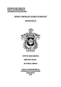 MODUL PROBLEM BASED LEARNING MENGAMUK