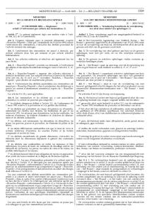MONITEUR BELGE Ed. 2 BELGISCH STAATSBLAD