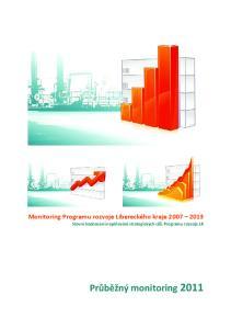 Monitoring Programu rozvoje Libereckého kraje Slovní hodnocení naplňování strategických cílů Programu rozvoje LK