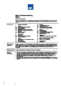 Motor- & Scooterverzekering MS02A