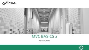 MVC BASICS 2. Kevin Picalausa