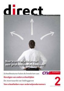 Naar krachtige scholen met een professionele identiteit