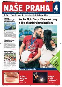 NAŠE PRAHA 4. Václav Noid Bárta: Chlap má ženy a děti chránit i vlastním tělem. Nejčtenější v celé Praze výtisků týdně