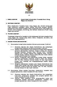 NAMA JABATAN : Kepala Seksi Infrastruktur Transaksi Surat Utang Negara dan Derivatif