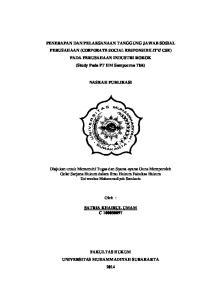 NASKAH PUBLIKASI. Oleh : SATRIA KHAIRUL UMAM C FAKULTAS HUKUM UNIVERSITAS MUHAMMADIYAH SURAKARTA 2014