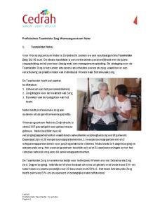 Nebo biedt professionele zorg aan ouderen uit de gereformeerde gezindte