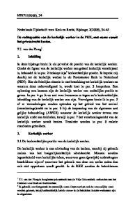 Nederlands Tijdschrift voor Kerk en Recht, Bijdrage, 2(2008), 34-45
