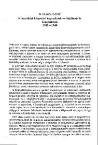 Nemzetközi könyvtári kapcsolatok folyóirat- és könyvakciók