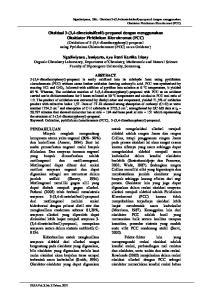 Ngadiwiyana, Dkk.: Oksidasi 3-(3,4-dimetoksifenil)-propanol dengan menggunakan Oksidator Piridinium Klorokromat (PCC)