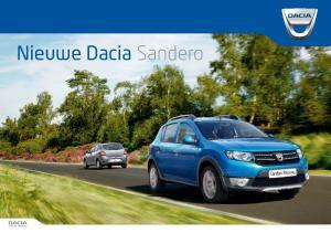 Nieuwe Dacia Sandero