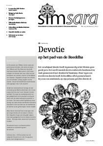 Nieuwsbrief voor belangstellenden in Vipassana-meditatie. Devotie. Paul Boersma