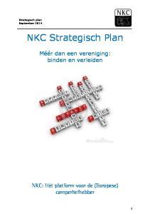 NKC Strategisch Plan