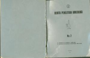 No. 2 A SURVEI DI DAERAH LAMPUNG B. SURVEI DI DAERAH SUMATERA SELATAN JAKARTA