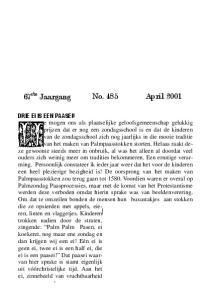 No. 485 April ste Jaargang