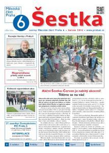 noviny Městské části Praha 6 červen 2014