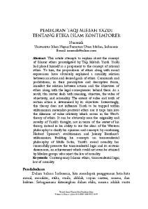 Nurasiah Universitas Islam Negeri Sumatera Utara Medan, Indonesia