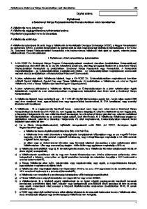 Nyilatkozat a Széchenyi Kártya Folyószámlahitel Konstrukcióban való részvételhez
