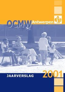 OCMW. Antwerpen JAARVERSLAG