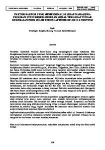 Oleh: Binahayati Rusyidi, Nunung Nurwati, Sahadi Humaedi. Abstrak