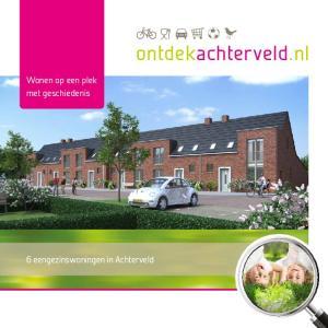 ontdekachterveld.nl Wonen op een plek met geschiedenis 6 eengezinswoningen in Achterveld