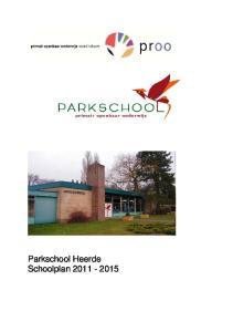 Openbare basisschool : Parkschool. Brinnummer: