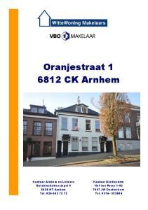 Oranjestraat CK Arnhem