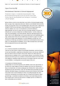 Pagina 1 van 7: Japan Avontuurlijk - Indrukwekkende Trektochten en Culturele Hoogtepunten