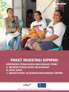 PAKET INVESTASI AIPMNH: