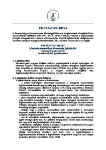 PÁLYÁZATI FELHÍVÁS. PÁLYÁZATOT HIRDET Munkahelyteremtés az Ormánság fejlődéséért munkaerő-piaci program keretében történő foglalkoztatásra