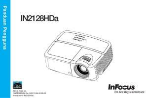 Panduan Pengguna. IN2128HDa PZ339-A Model resmi: IN2128HDa