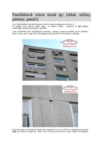 Panellakások százai áznak így (ablak, redőny, párkány, panel2)